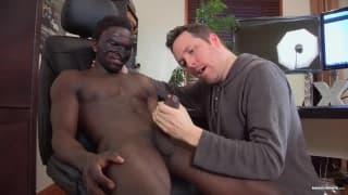 Pascal loves the black dick of Jackson