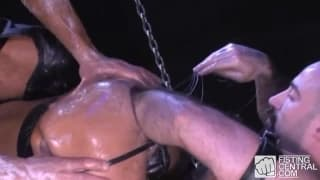 Matthieu Paris loves to be in BDSM scenes