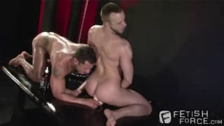 Angelo Marconi and Jessie Colter use dildo's