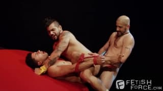 Tony Buff with Draven Torres and Armond Rizzo