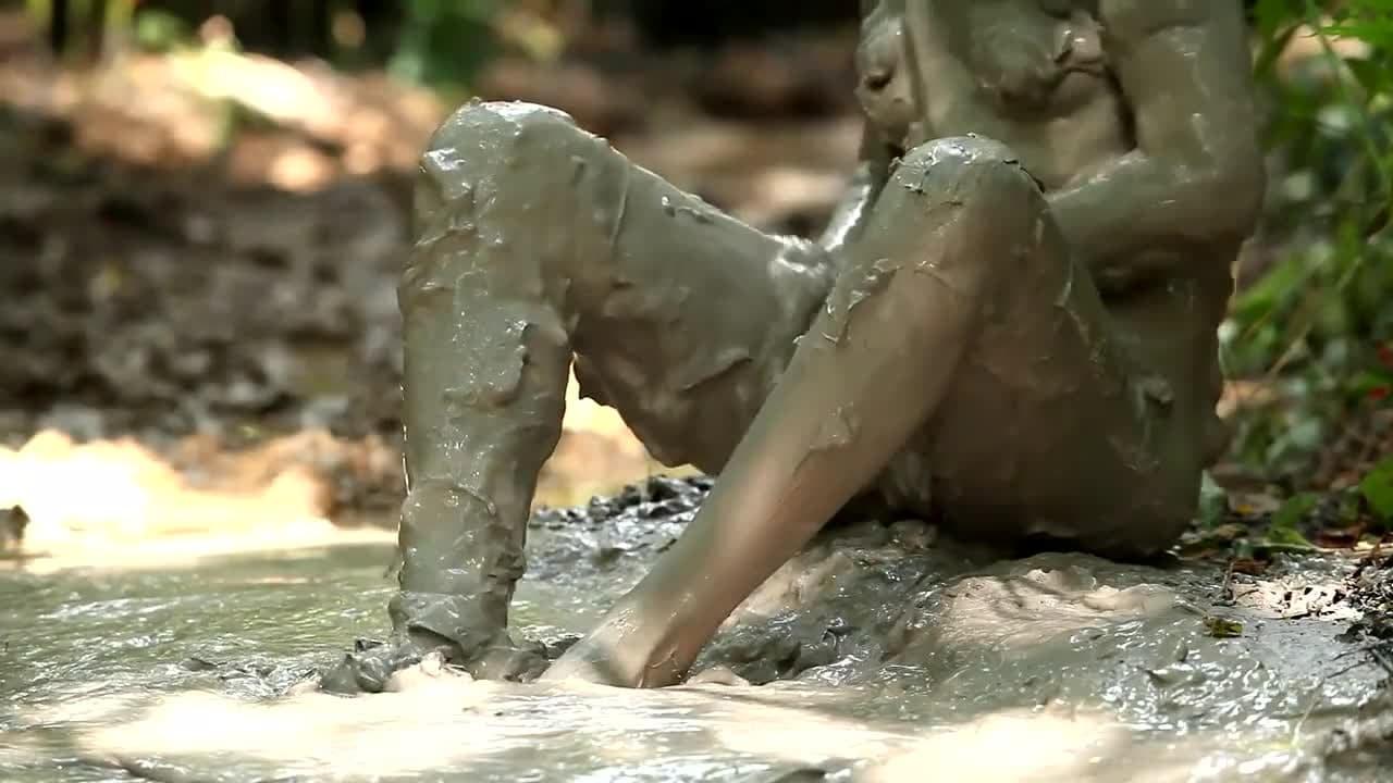 Mud Masturbation