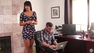 Mercedes Carrera - step-mom blows son