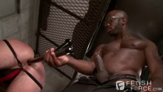 Race Cooper and Tommy Rawlins enjoy BDSM