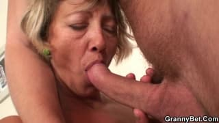 Mature hot mom got fucked by her son