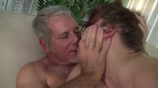 Mature couple fucking, big fat milf ass