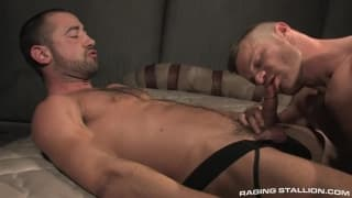 Landon Conrad sucks the dick of Donnie Dean