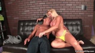 Mature lady enjoy the company of a man