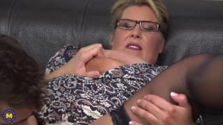 Kim Van Dyke The Mature MILF with Young dick