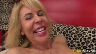 Gloden Slut - Erica Lauren - Pounding Granny