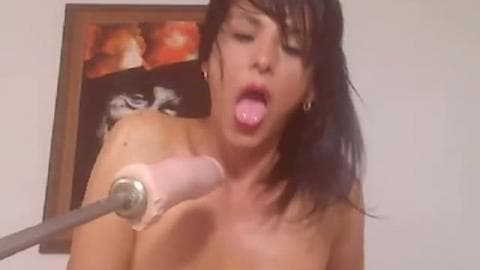 Danielafoxxx fuck hard with toy sex machine