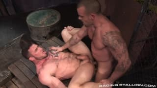 Damien Crosse and Seven Dixon fuck deep