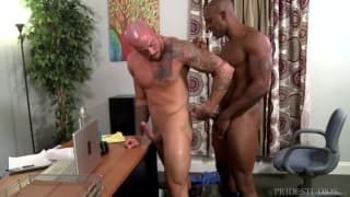 Sean Duran and Osiris Blade get horny