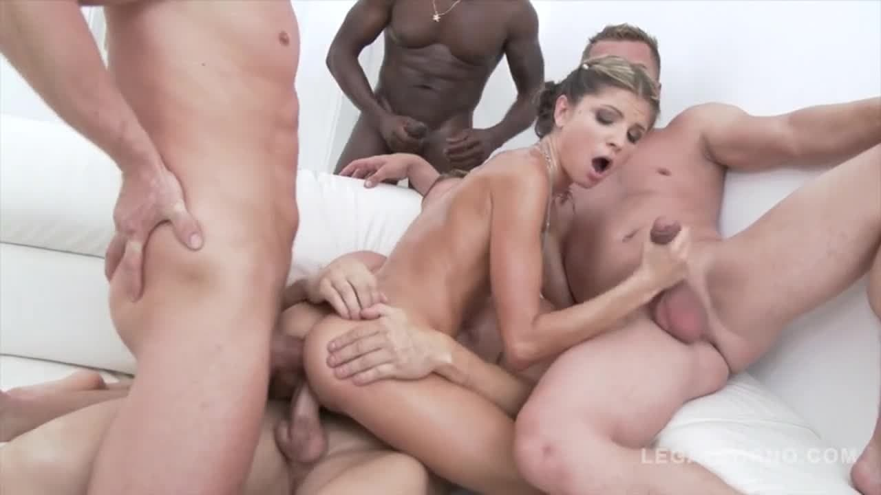 First Time Gangbang Creampie