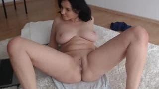 Darkitten sex toys rubbing cum hot show