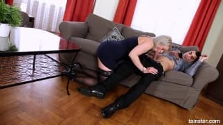 Dona love fully clothed sex at home