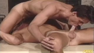 Danny Somers and Brad Chase get horny