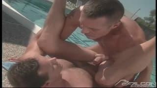 Chris Barlow loves to fuck David Bradley