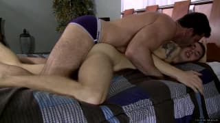 Billy Santoro is with Sam Truitt getting hard