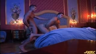 Todd Miller and Fredy Costa enjoy sodomy