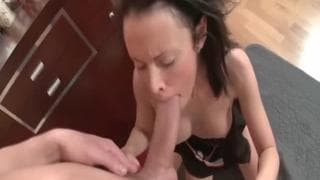 Russian Teen Amazing sex with Creampie