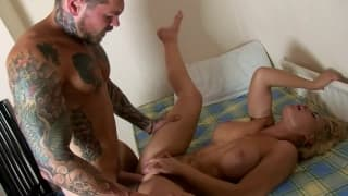Phoebe Adams is happy to be fucked in doggy