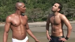 Extreme Anal Outdoors by Hot Latino Gods