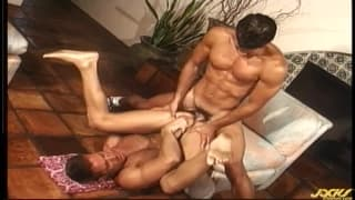 Logan Reed and Steve Sax in this horny fuck