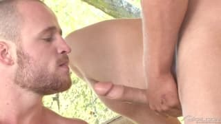 In the woods with Nash Lawler and Ty Colt