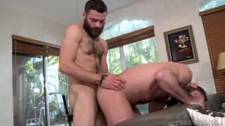 Oral session between Tommy Defendi and Jake