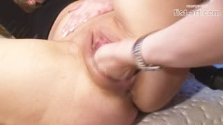 Mature Blonde extreme Play and Fisting