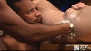 Cream makes it a great fist fucking session