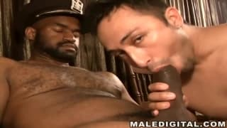 Marco Madness loves his friend's black penis