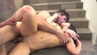 Karissa Kane is fucked hard by Manuel