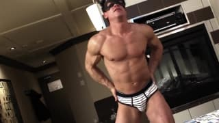 Christopher's cock is rock hard for you!