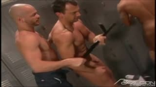 Today some men not to miss in this group sex