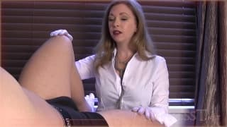 Sexual function medical exam hot scene