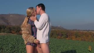 Marry Queen and Mad Max make love outdoors