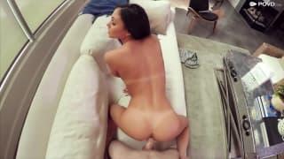 Ariana gets treated with hardcore fuck