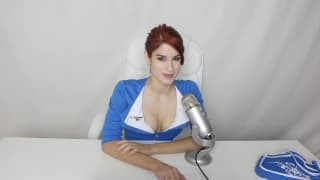 Redhead making a life riding dicks show