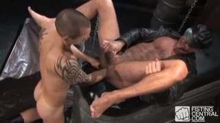 Matthieu Paris and Andre Barclay playing