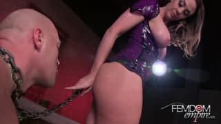Mistress Chanel Preston In Slave to Her Ass