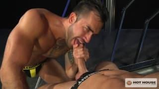 Donnie Dean seeks pleasure with Marko Carb