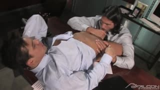 Roman Heart loves to get hard with his man