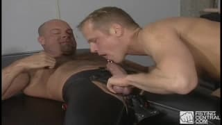 Thom Barron and Zak Spears enjoy sucking