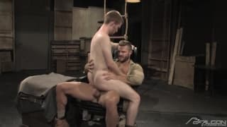 Landon Conrad and Seamus OReilly have fun