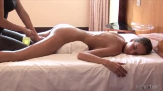 Gratis ebony lesbiske pornoer