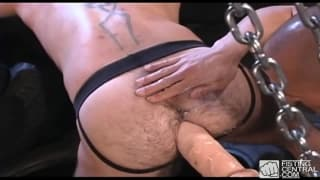 Rik Jammer and Brock Devonshire extreme dildo