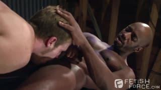 Brian Bonds sucks the dick of Race Cooper