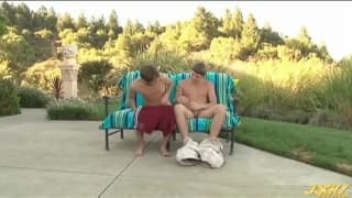 Kameron Scott and Justin Taylor wanking