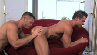 Rod Daily and Paul Wagner in a suck sesh